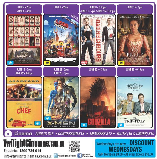 June cinema
