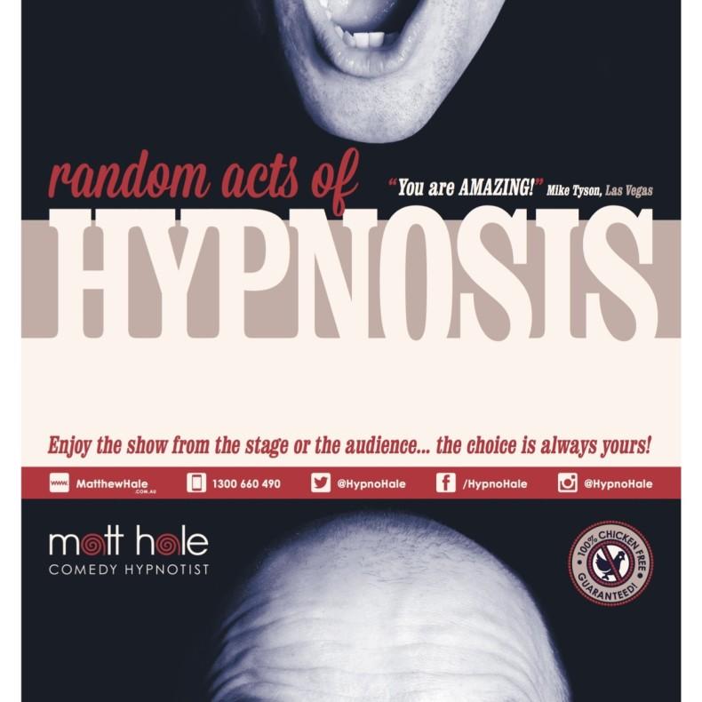 Matt Hale Random Acts Poster