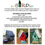 suBIRDia October Workshop