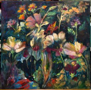 'Bird & Flowers'