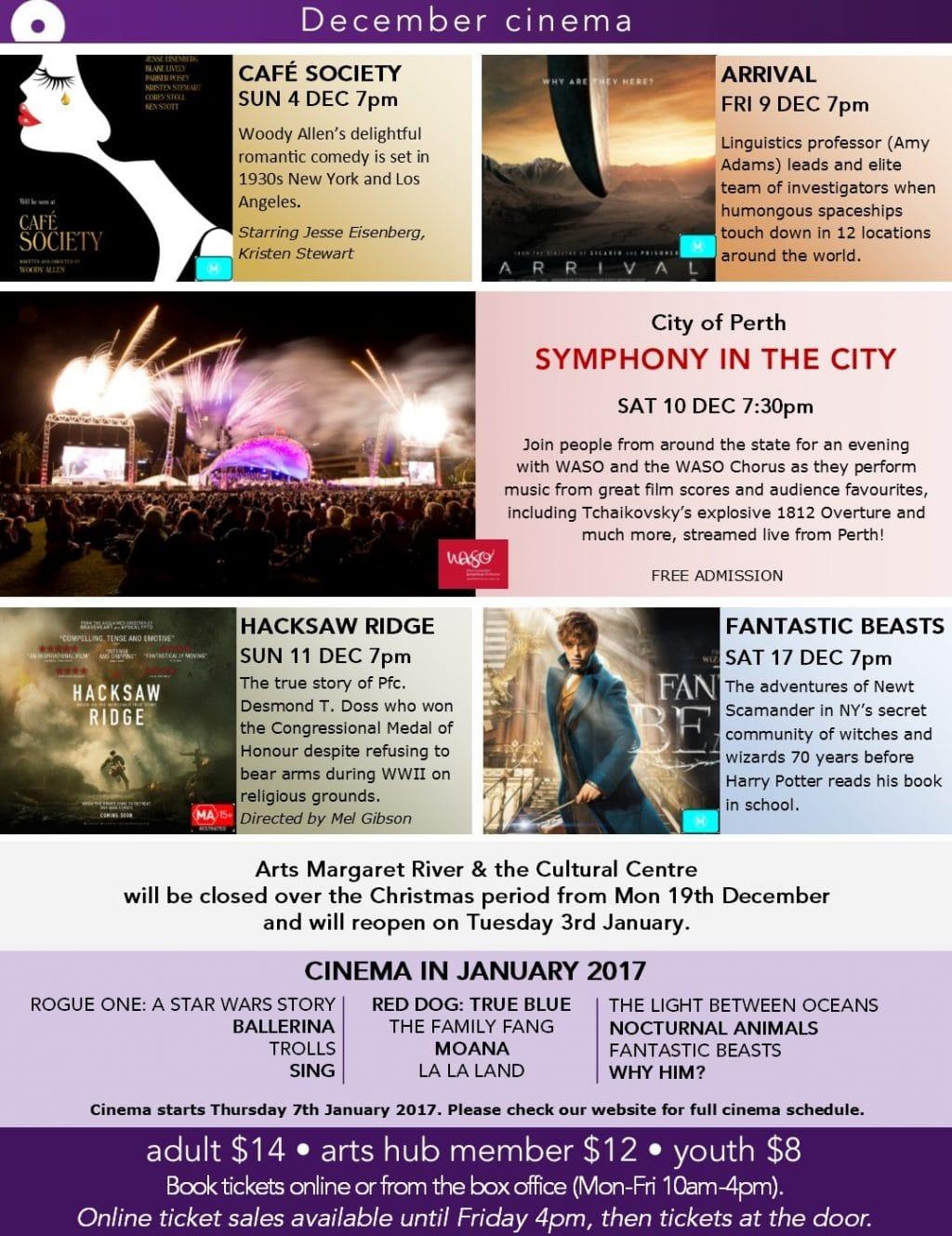 Cinema December 2016