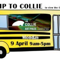 Facebook event Collie Bus trip