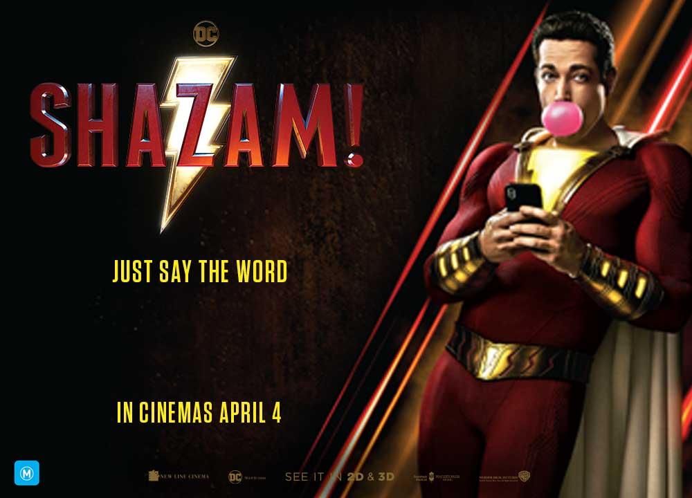 Cinema poster-Shazam
