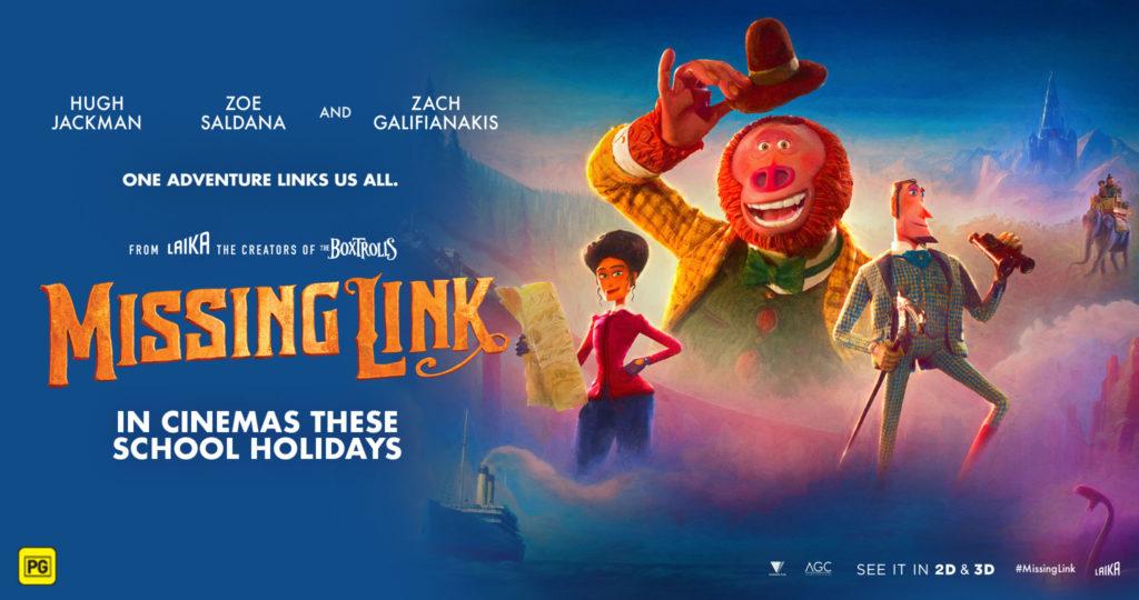 Missing link - cinema poster - Arts MR