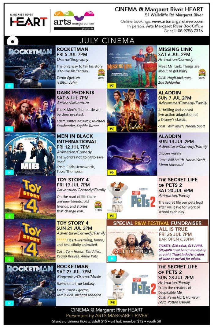 July 2019 movie poster - Arts MR