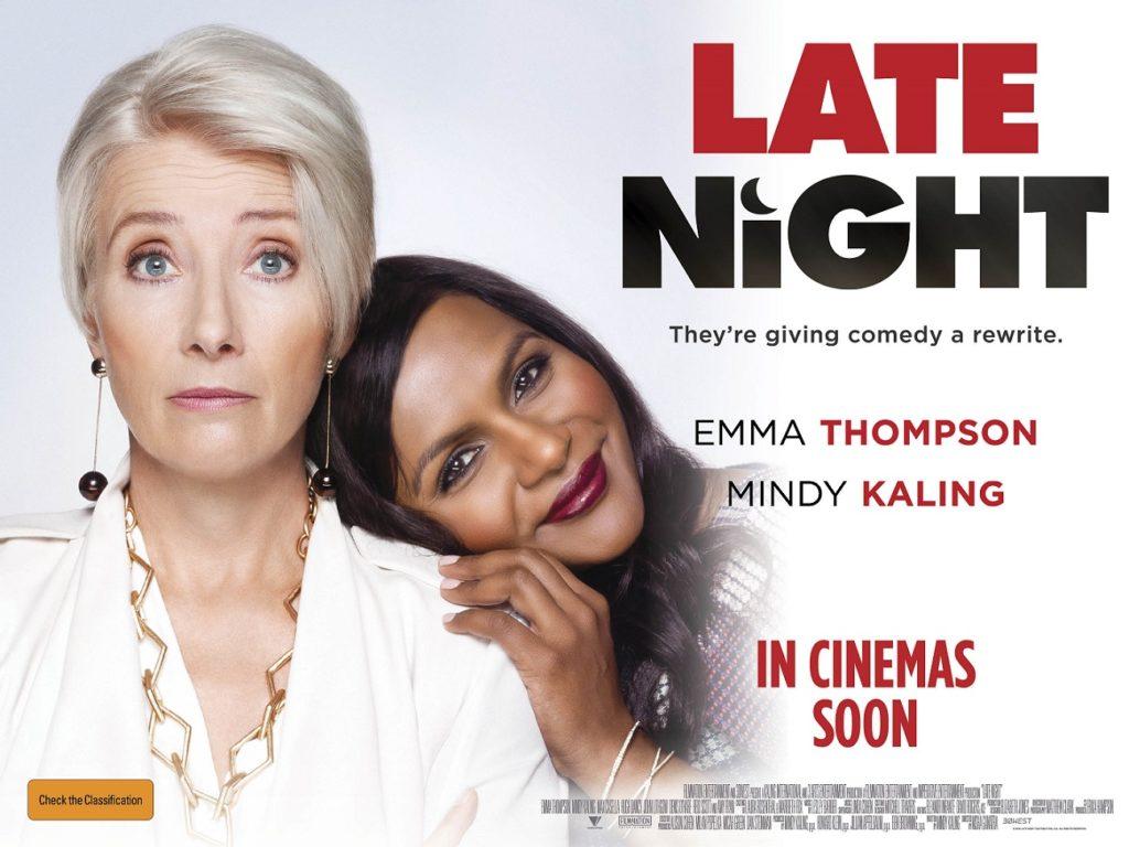 Late Night Cinema poster - Arts MR
