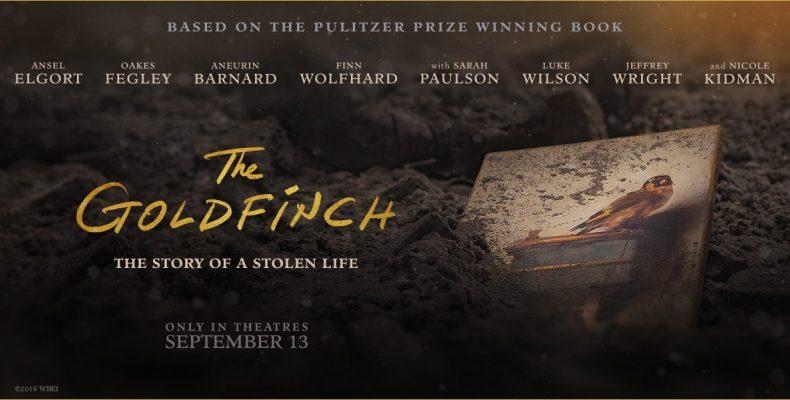 Goldfinch - cinema poster - Arts MR