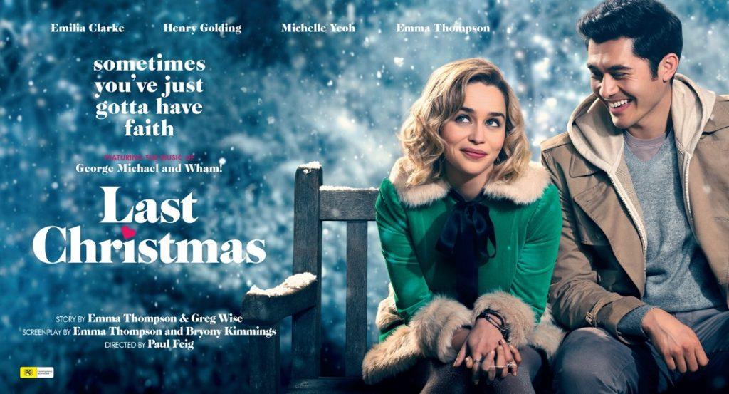 Last-Christmas - Cinema poster Arts MR