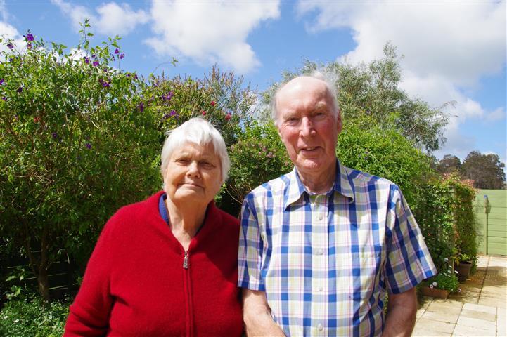 Bill & Jenny Bunbury
