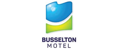 Buselton motel logo 414 x 172
