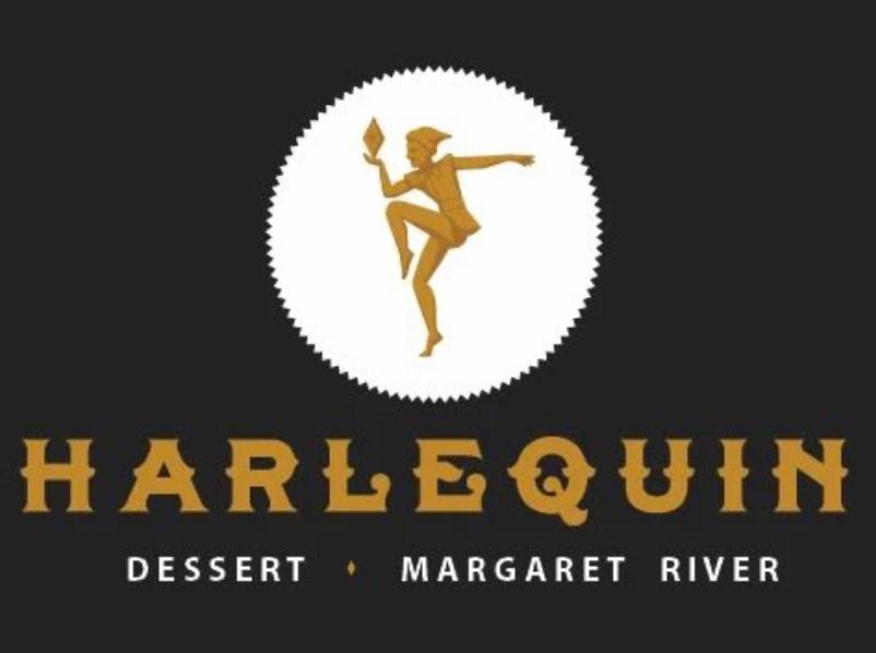 Harlequin dessert logo